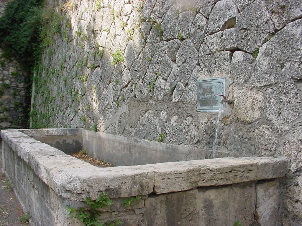 Narni il sii mette i contatori anche for Fontane antiche